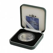 2001 Silver Proof Britannia Single With Certificate